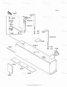 Kawasaki Side By Side 2008 Oem Parts Diagram For Fuel Tank