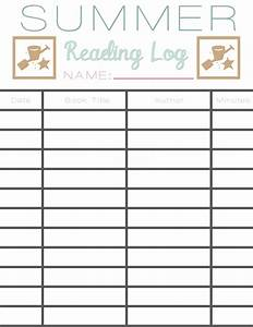 summer reading log earn free books sarah halstead With summer reading log template
