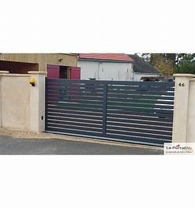 Portail Brico Depot 4m : portail coulissant brico depot ~ Farleysfitness.com Idées de Décoration