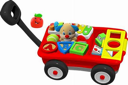 Fisher Wagon Laugh Learn Pull Play Learning