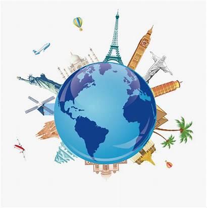 Travel Clipart Symbol Symbols Tourism Clip Around