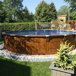 piscine hors terre boreale With terrasse bois avec piscine 7 multi services photos realisations piscines