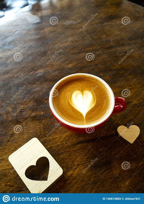 Latte coffee in white coffee cup with plate and spoon on white background with clipping path. Cup Of Love Heart Latte Art Coffee Stock Image - Image of black, design: 140619865