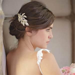 les barrettes comme accessoire de coiffure de mariee With accessoire de mariage pour cheveux