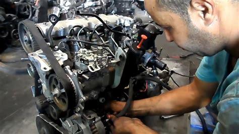 mecanique moktar moteur  diesel en marche tshghyl mhrk