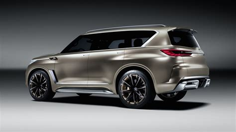Infiniti Qx80 4k Wallpapers by Wallpaper Infiniti Qx80 Monograph Crossover Concept