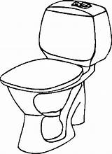 Toilet Coloring Privada Banheiro Desenho Colorir Printable Outhouse Imprimir Designlooter Tudodesenhos Template Drawings Simple sketch template