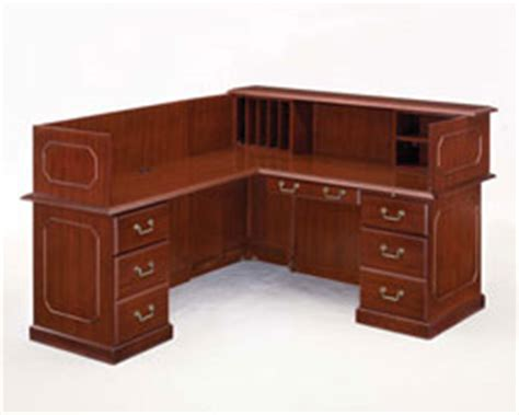 Traditional Reception Desk by Traditional Reception Desks Reimagine Office Furnishings