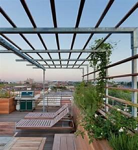 warum ist die pergola aus metall so toll archzinenet With französischer balkon mit garten pergola aus metall