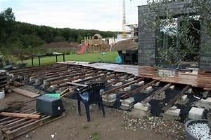 Fundament Für Terrasse : fundament untergrund wpc terrasse ~ Yasmunasinghe.com Haus und Dekorationen