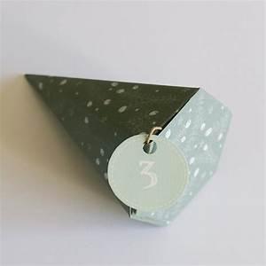 Comment Faire Une étoile En Papier : fabriquer une bo te cadeau en c ne en papier marie claire ~ Nature-et-papiers.com Idées de Décoration