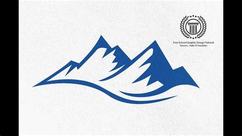 Mountain Shape Logo Design Tutorial