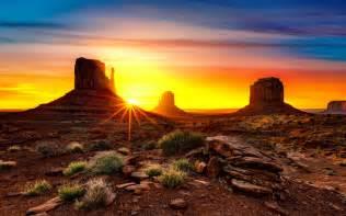 Desert Sunrise Desktop Backgrounds