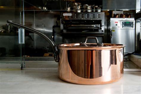 bourgeat copper sauce pan matfer usa kitchen utensils
