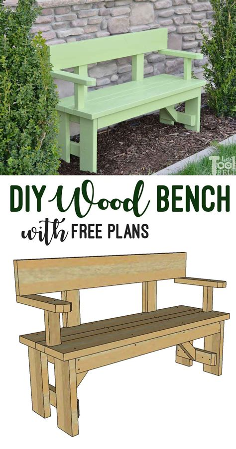 diy wood bench   plans  tool belt