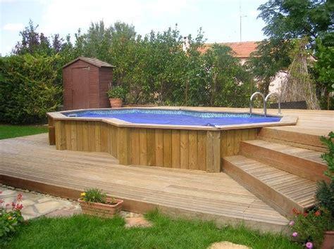 piscine ossature bois enterree 28 images piscine bois cerland octogonale semi enterr 233 e
