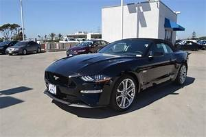 2019 Ford Mustang GT Premium Convertible Shadow Black, 8 Cylinder Engine | South Bay Ford