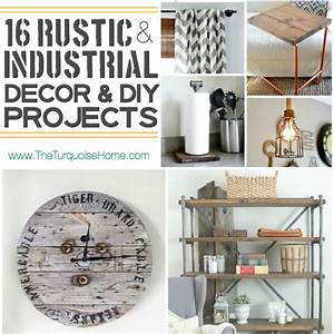 Style Trend: 16 Rustic Industrial Decor Ideas and DIY