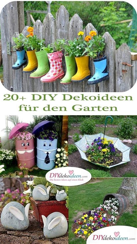 diy deko garten 20 diy dekoideen f 252 r den garten so einfach ist gartendeko selber machen