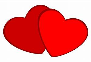 Two Red Hearts Clipart | Clipart Panda - Free Clipart Images
