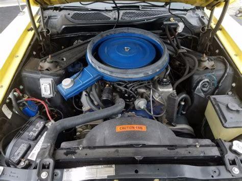 1971 Boss 351 Mustang Original Engine Beautiful Condition