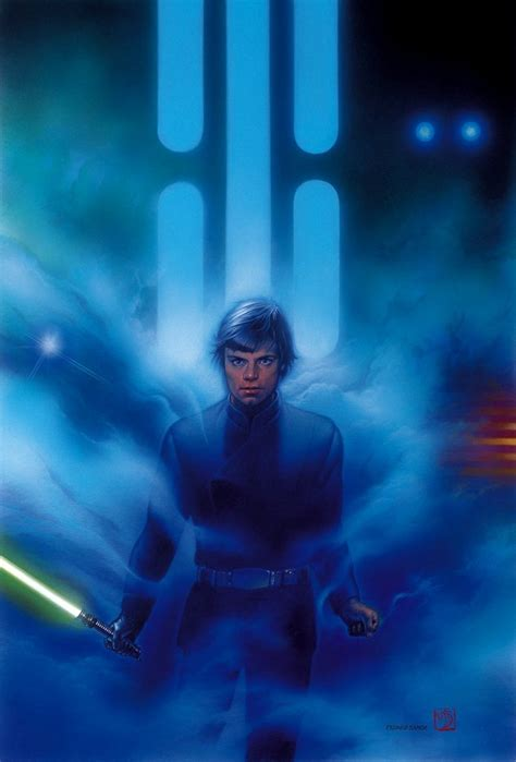 star wars beautiful art  tsuneo sanda
