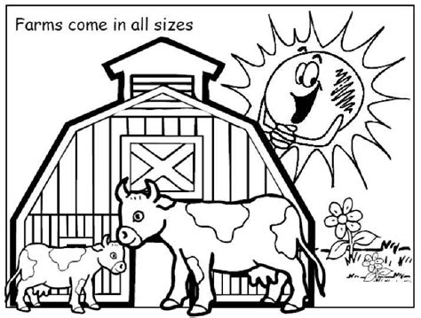 farm coloring pages for 554 | farm1