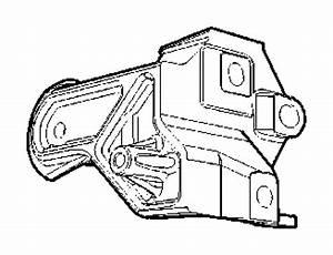 Dodge Caliber Engine Mount  Support  Rear  Mouting  Ecd