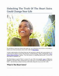 Unlocking The Truth Of The Heart Sutra Could Change Your