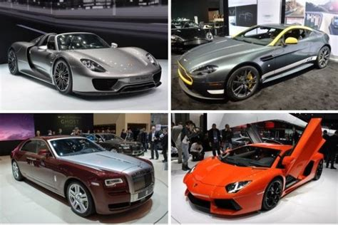 Most Expensive Cars Of The 2014 New York Auto Show