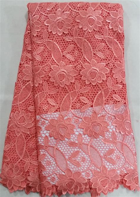 aliexpress buy 2015 high quality polyester water soluble apricot cupion lace fabric