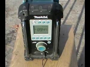 Makita Radio Bmr100 : makita bmr100 construction radio overview youtube ~ Orissabook.com Haus und Dekorationen