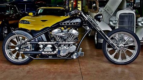 2007 Custom 120 Hp Pro Street Motorcycle By St Louis