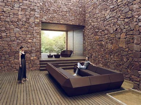 canape exterieur design canapé lounge design extérieur faz sofa mat module gauche