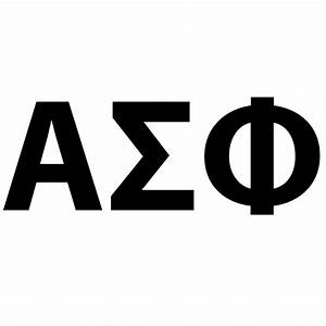 greek letter alphabet mason ifc With alpha sigma alpha greek letters