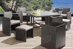 Carrefour Table Jardin : 30 id es d co pour un jardin en f te ~ Teatrodelosmanantiales.com Idées de Décoration