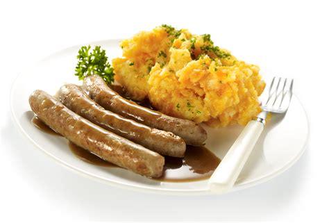 cuisine du frigo recette de saucisse avec purée de carottes et jus de viande open kitchen
