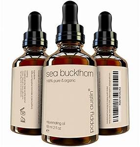 FINEST Sea Buckthorn Oil 100 Pure Cold Pressed
