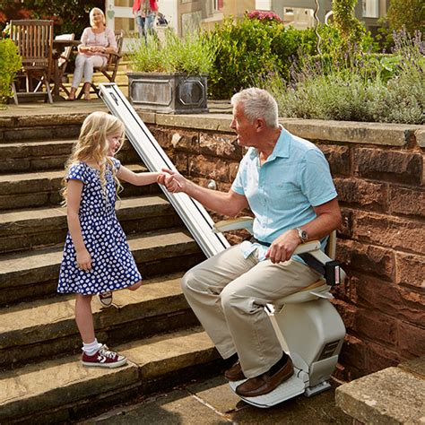 stairlift for outdoor spaces acorn stairlifts usa