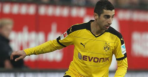 Arsenal Dealt Blow in Henrikh Mkhitaryan Chase as Agent ...