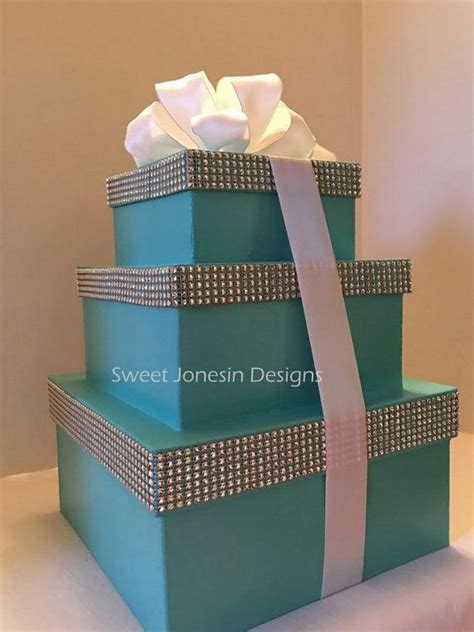 Chocolate wedding favors · gourmet chocolate · personalized ribbons Aqua Blue Boxes, Robin Egg Blue Gift Box,Centerpiece Boxes ...