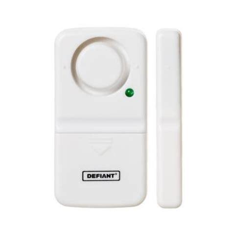 window alarms home depot defiant wireless home security door window alarm thd dw 1539