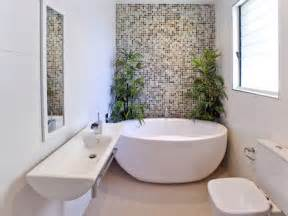 bathroom feature tiles ideas a small narrow space bathroom with free standing bath wall hung vanity basin use of