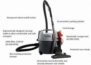 Nilfisk Vp300 Hepa H13 Filtered Vacuum Cleaner Free