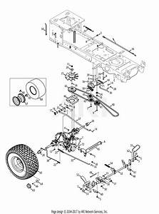 Troy Bilt 13al91ks066 Tb2142  2013  Parts Diagram For