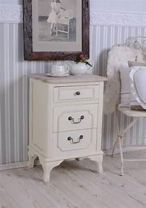 Table De Chevet Etroite : console de nuit ancien armoire shabby chic commode table chevet blanc ebay ~ Teatrodelosmanantiales.com Idées de Décoration