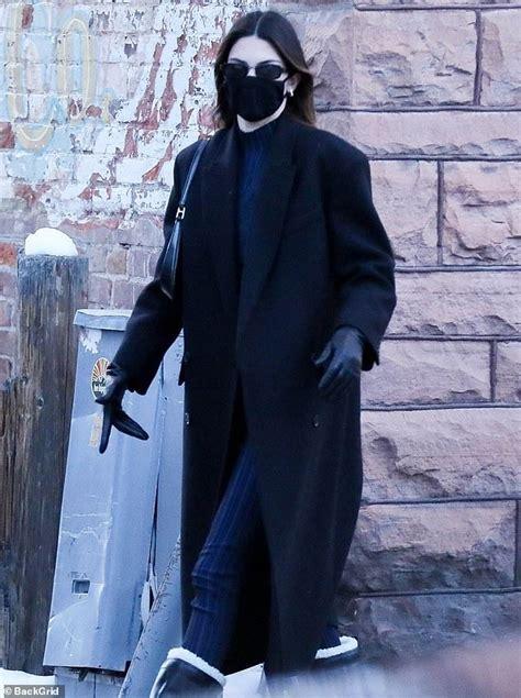 Kendall Jenner explores Aspen with Fai Khadra... while ...