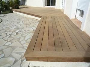 Installer Une Terrasse En Bois : pose fabrication installation d 39 une terrasse en bois dans le gard 30 et l 39 h rault 34 ~ Farleysfitness.com Idées de Décoration
