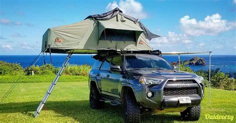 tepui rooftop tent toyota runner trd pro motor home
