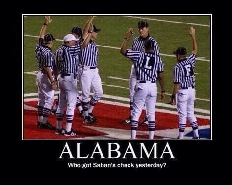 Alabama Football Memes - bama hater pics i hate bama football football funnies pinterest football search and lol